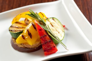 GRILLED VEGETABLES WITH LEMON MARINADE