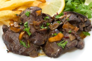 SPICED FRIED LIVER